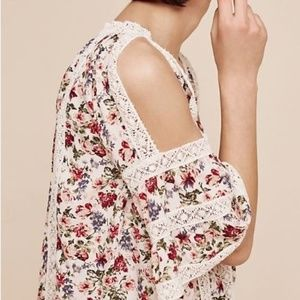 Maylou Open-Shoulder Blouse
